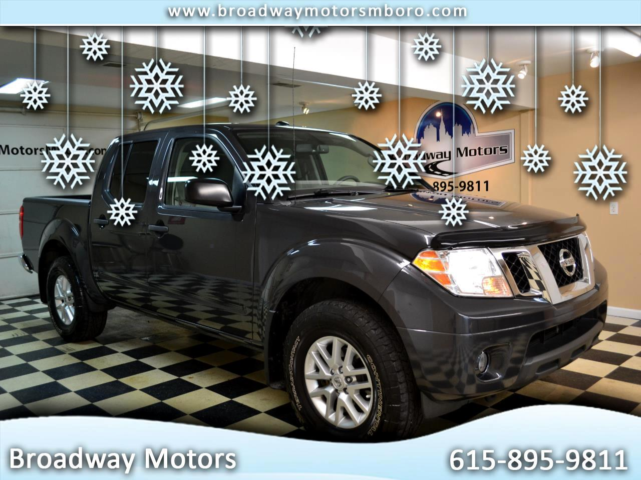 Nissan Frontier 4WD Crew Cab SWB Manual SV 2015