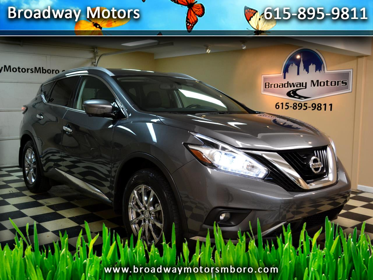 Nissan Murano FWD 4dr SL 2016