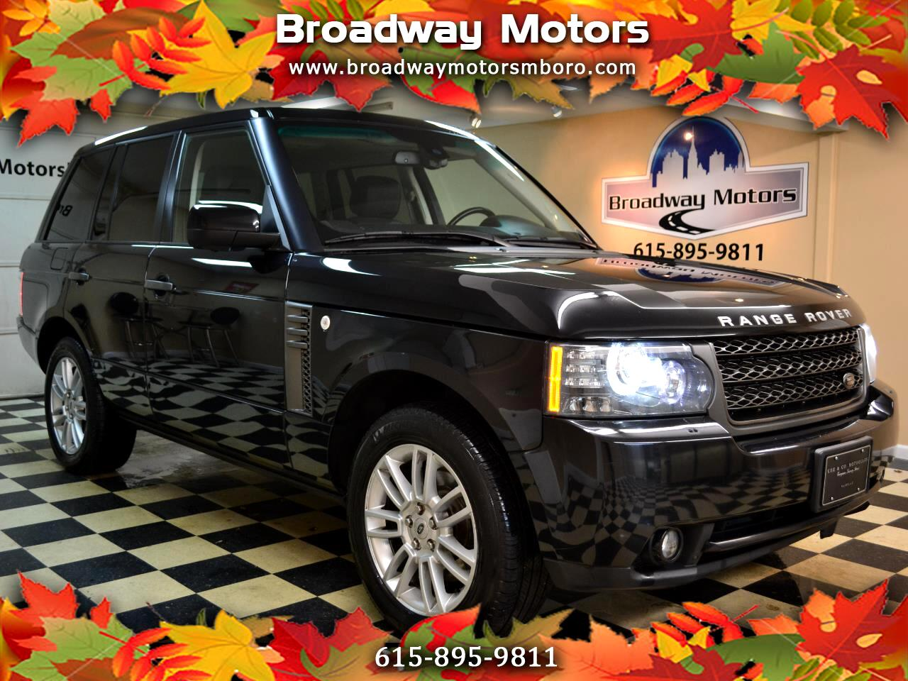 Land Rover Range Rover 4WD 4dr HSE 2011