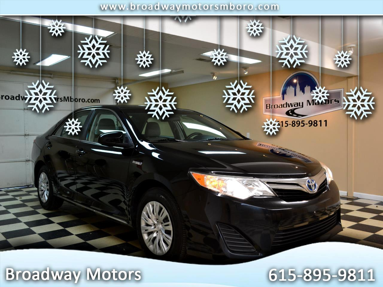Toyota Camry Hybrid 2014.5 4dr Sdn LE (Natl) 2014