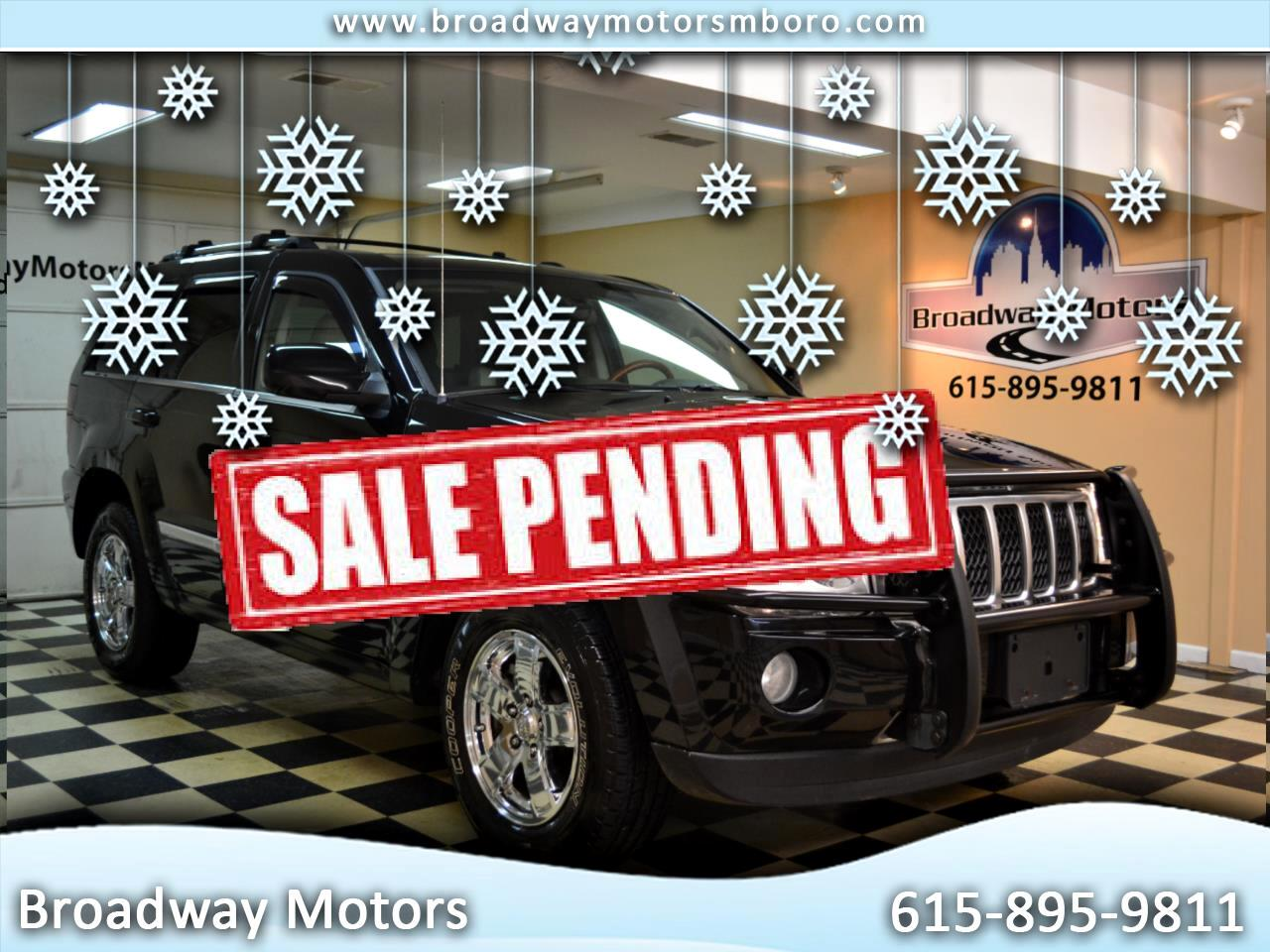 Jeep Grand Cherokee 4WD 4dr Overland 2007
