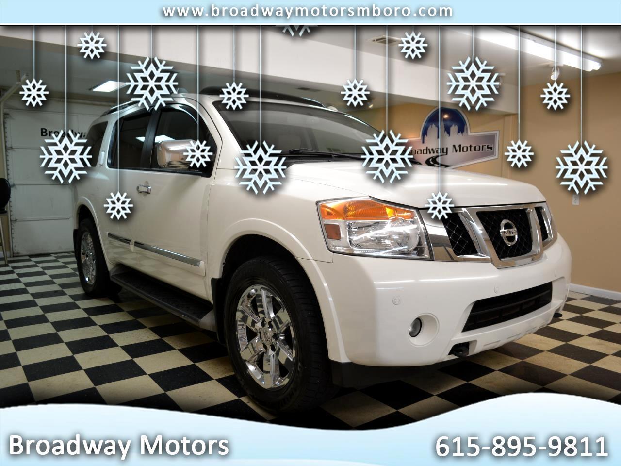 Nissan Armada 4WD 4dr Platinum 2011