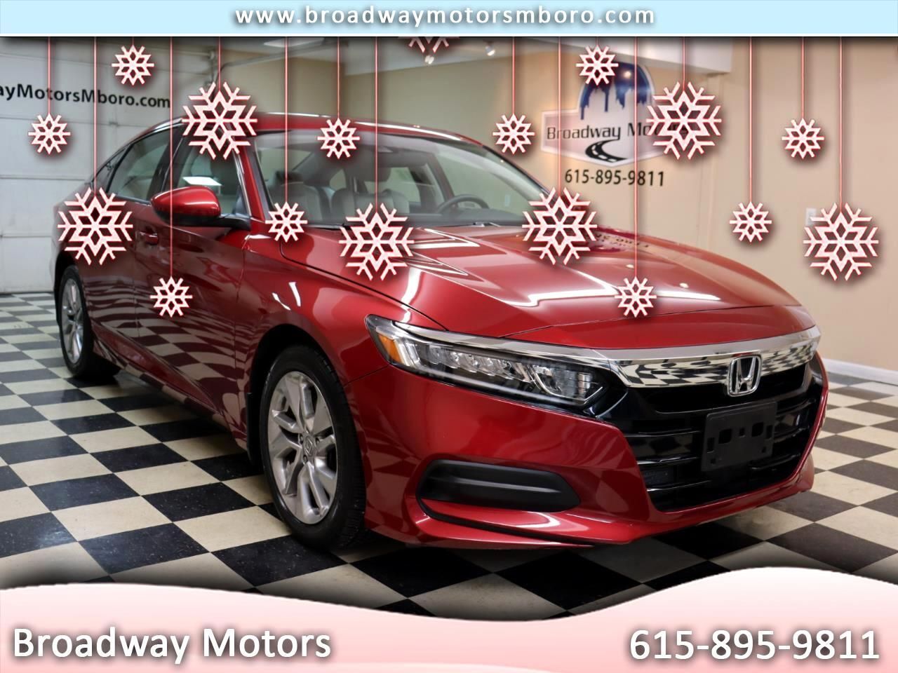Honda Accord Sedan LX 1.5T CVT 2019