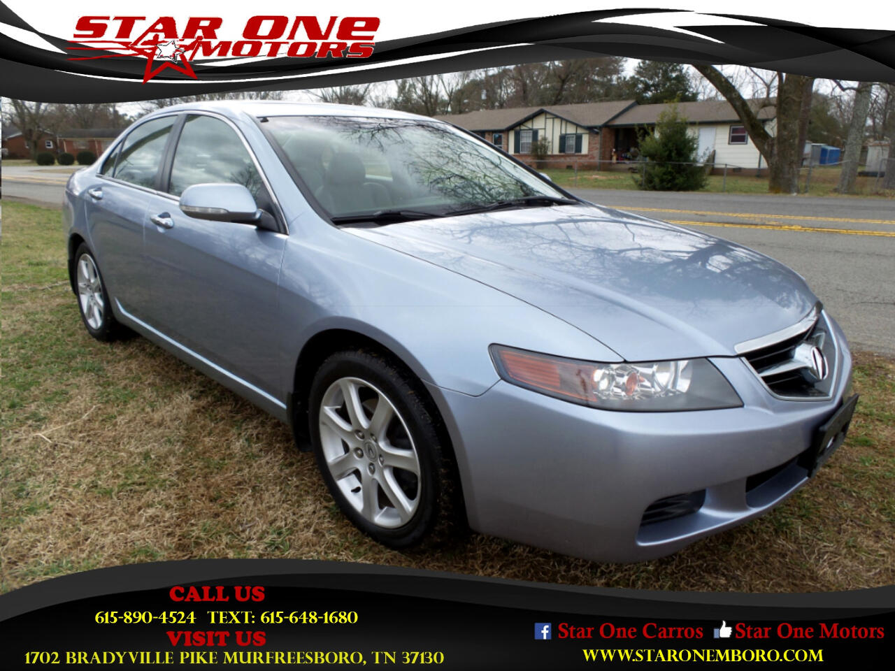 2005 Acura TSX 4dr Sdn AT