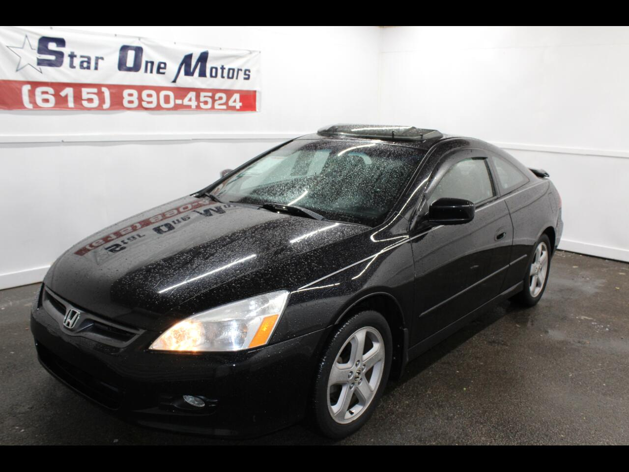 2006 Honda Accord EX V-6 Coupe w/ Nav/ XM Radio