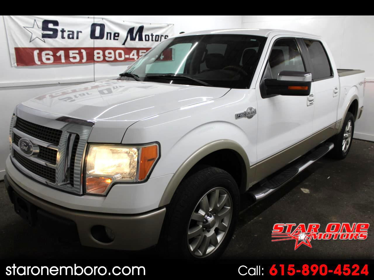 "2010 Ford F-150 Supercab 139"" King Ranch 4WD"