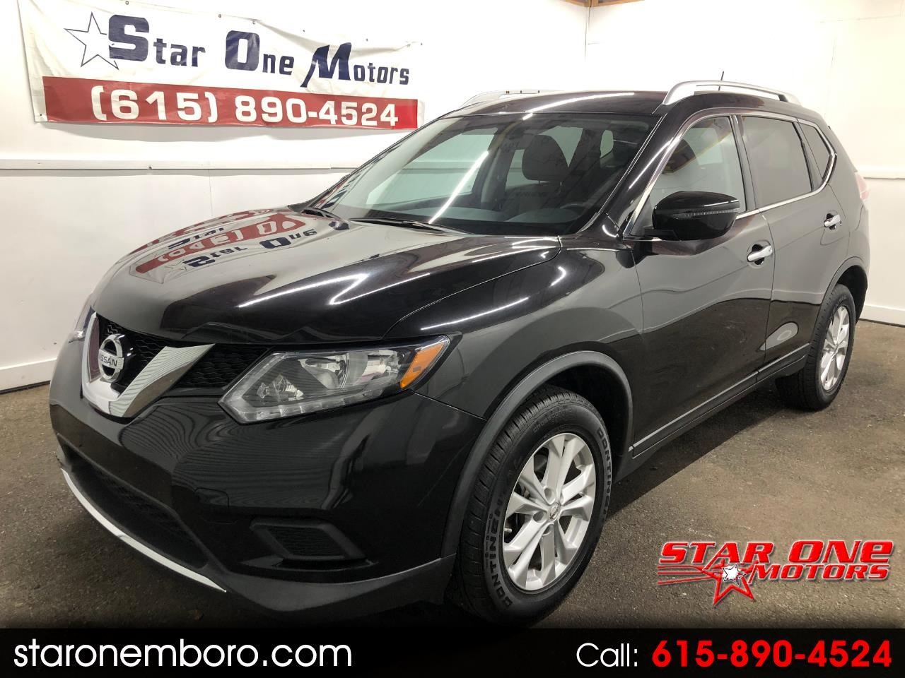 2016 Nissan ROGUE S/SV