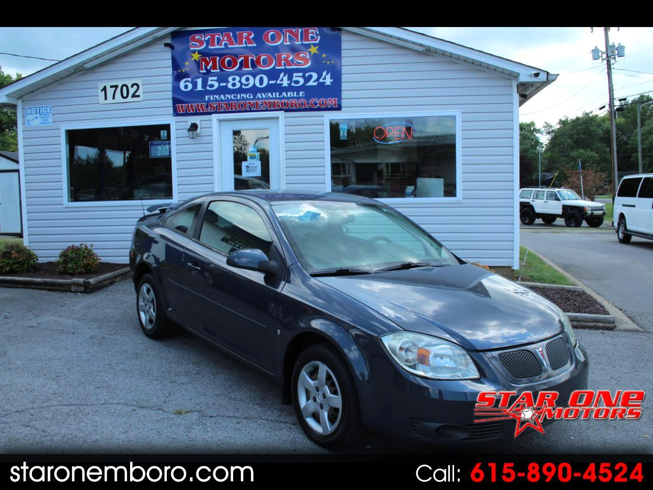 used 2009 pontiac g5 coupe for sale in murfreesboro tn 37130 star one motors star one motors