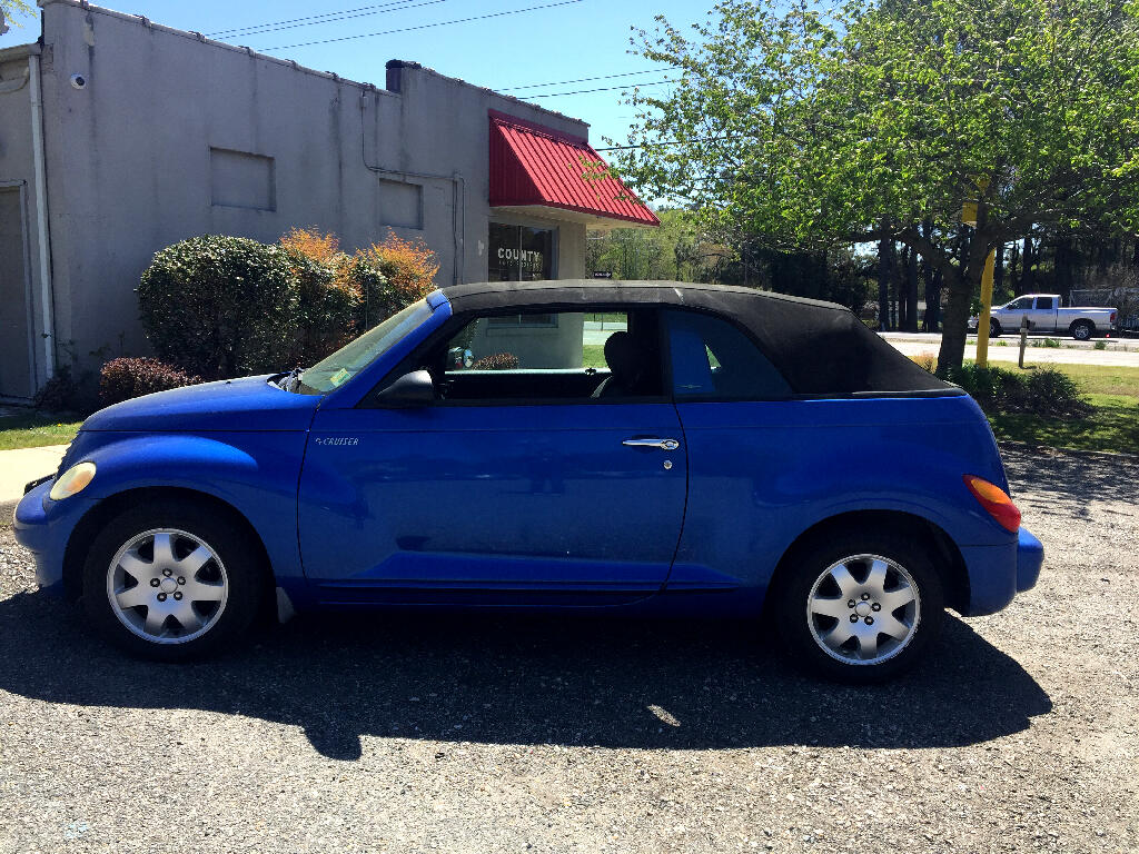 2005 Chrysler PT Cruiser 2dr Convertible Touring