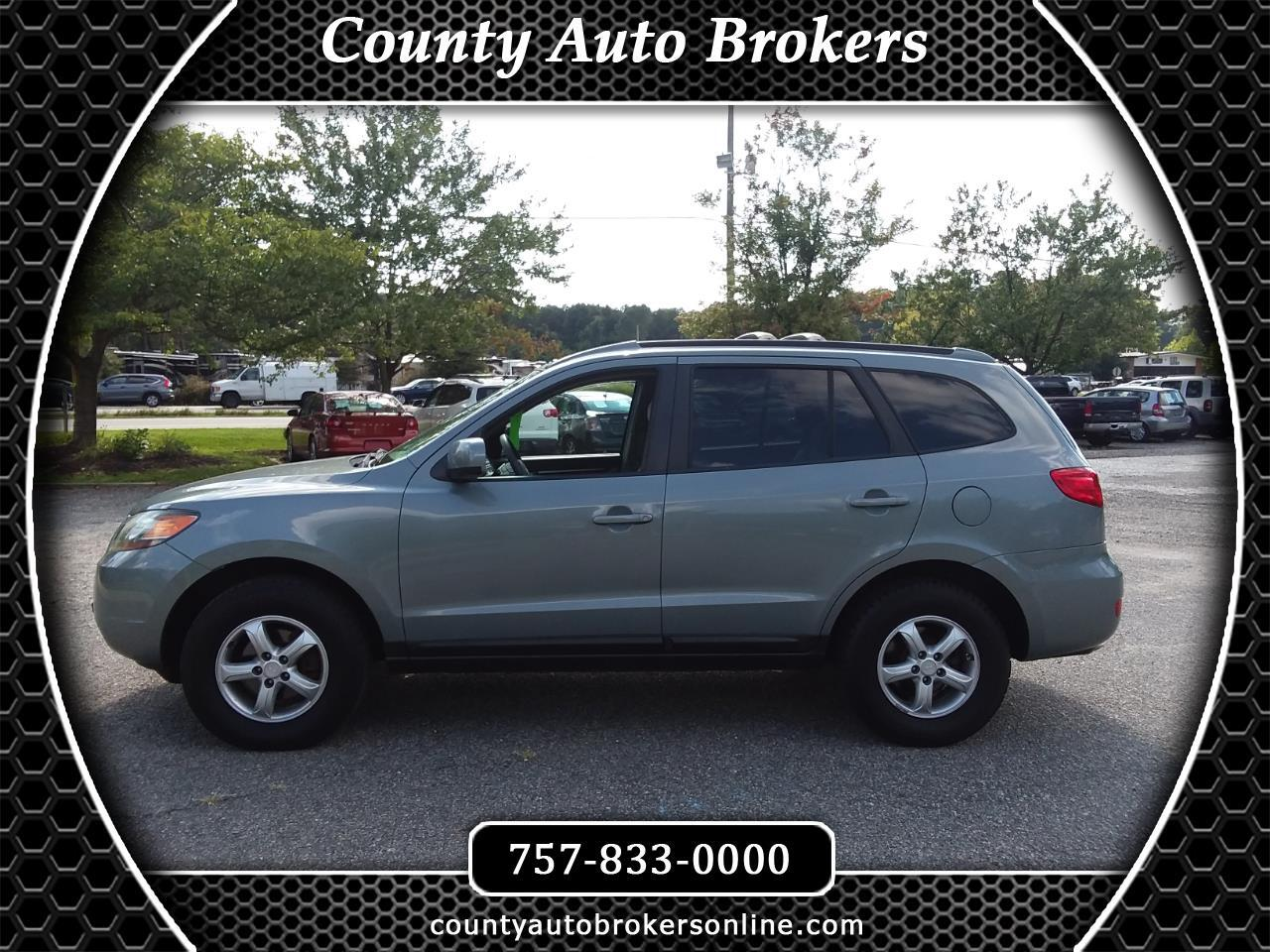 2007 Hyundai Santa Fe AWD 4dr Manual GLS *Ltd Avail*