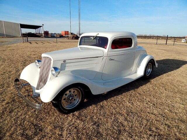 1934 Ford Coupe Three Window