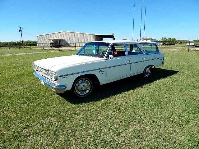 1965 Rambler American Classic 770 4 DR STN Wagon