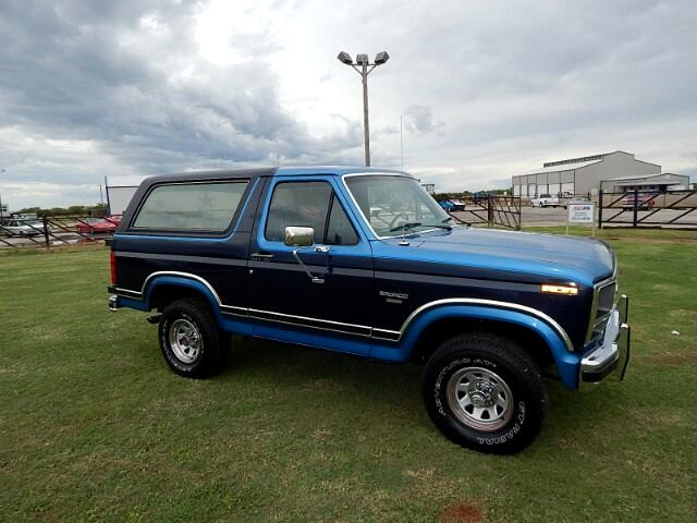 1985 Ford Bronco 4WD