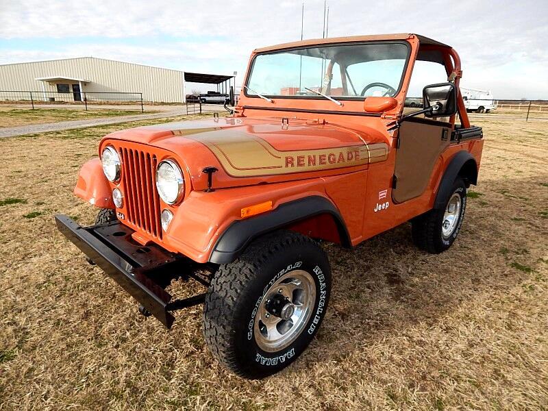 1975 Jeep CJ-5 LEVI Edition