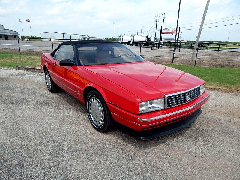 Cadillac Allante Base 1993