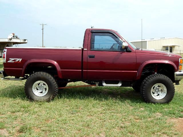 Chevrolet C/K 1500 Reg. Cab 8-ft. Bed 4WD 1989