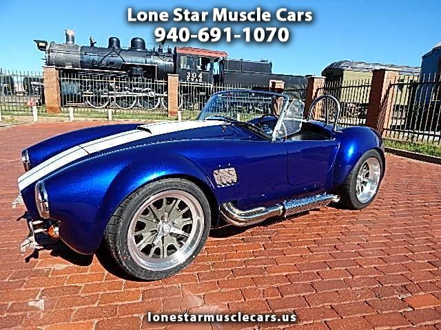 1965 Backdraft Racing Custom Cobra RT3