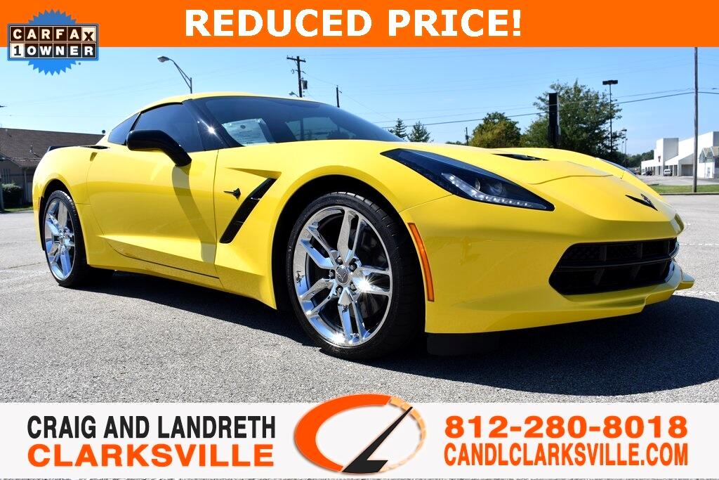 2016 Chevrolet Corvette Z51 1LT Coupe Auto
