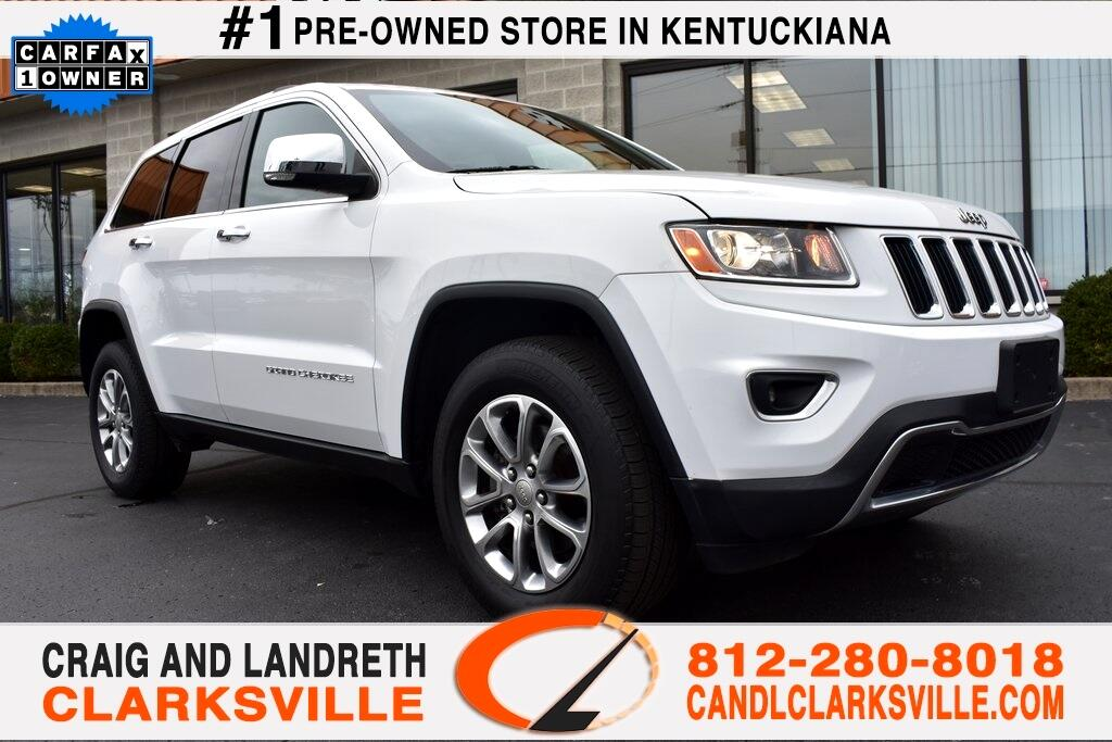 2015 Jeep Grand Cherokee 4WD 4dr Limited