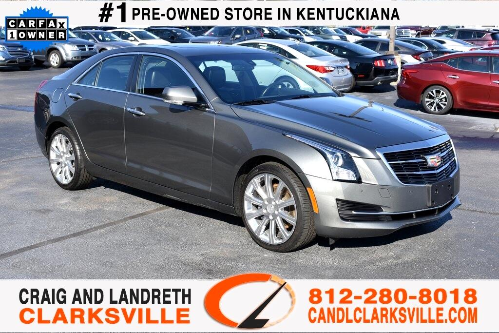 2016 Cadillac ATS 4dr Sdn 2.0L Luxury Collection AWD