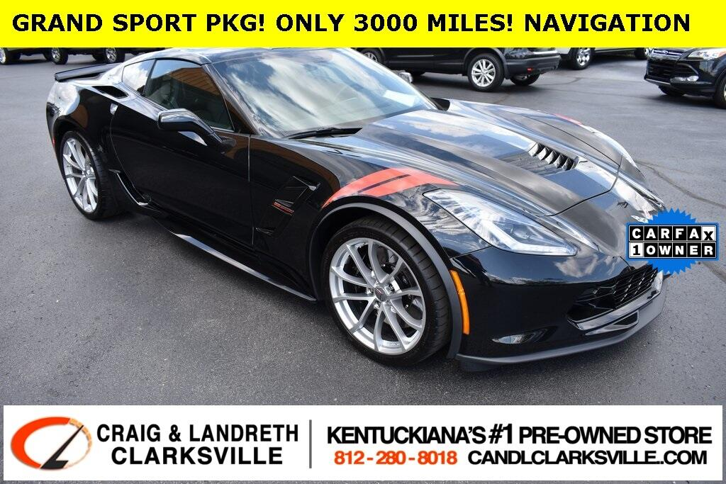 2018 Chevrolet Corvette Grand Sport w/2LT