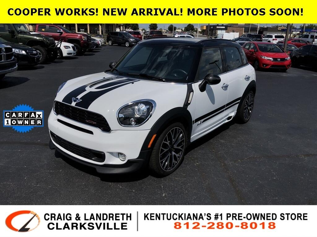 2013 MINI Cooper Countryman AWD 4dr John Cooper Works ALL4
