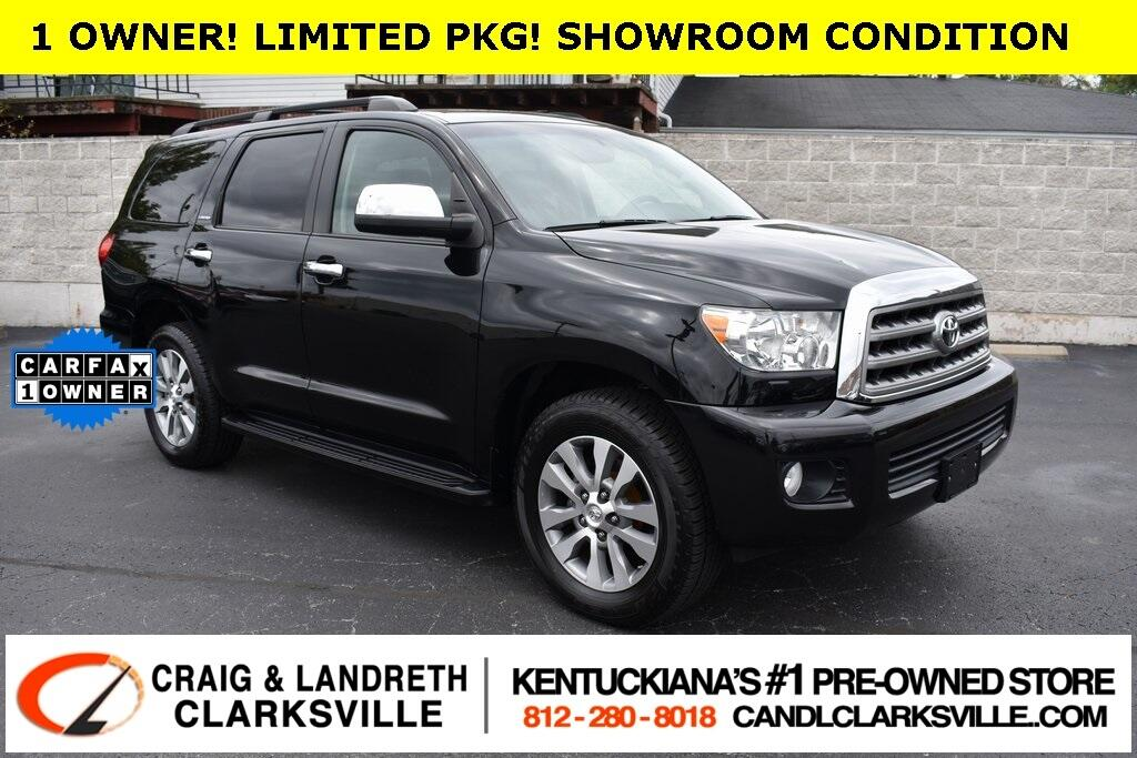 2016 Toyota Sequoia 4WD 5.7L Limited (Natl)