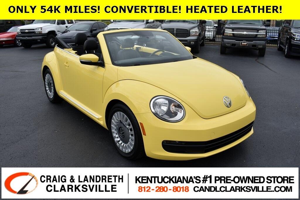 Volkswagen Beetle 2.5L Convertible 2013