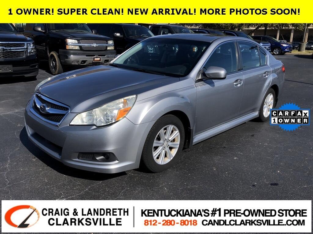2010 Subaru Legacy 4dr Sdn H4 Auto Prem All-Weather/Pwr Moon