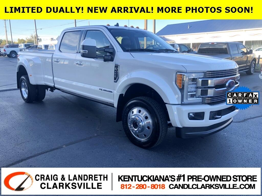 2019 Ford Super Duty F-450 DRW 4WD Limited Crew Cab