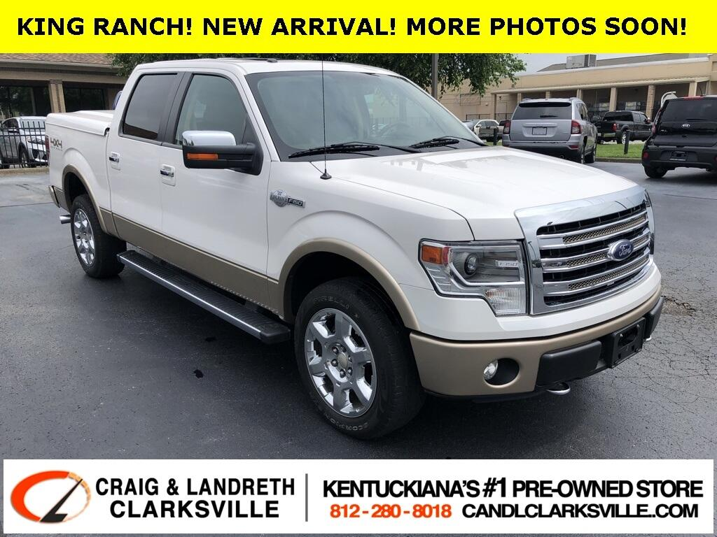 Ford F-150 King Ranch SuperCrew 4WD 2013