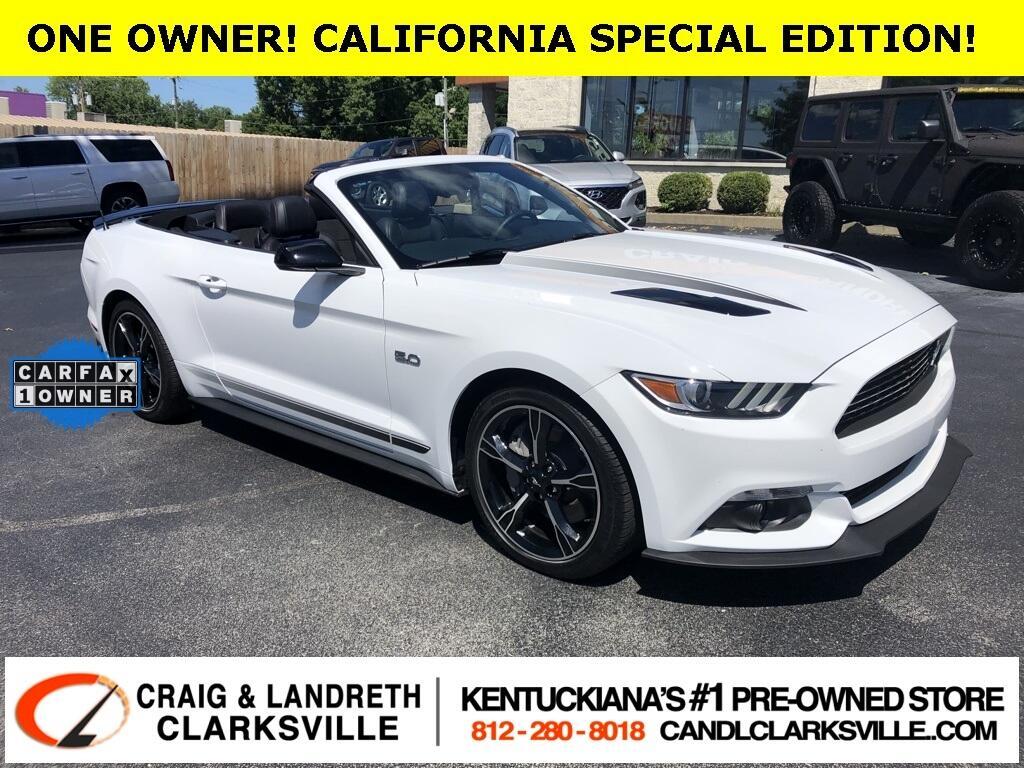 Ford Mustang GT Premium Convertible 2017