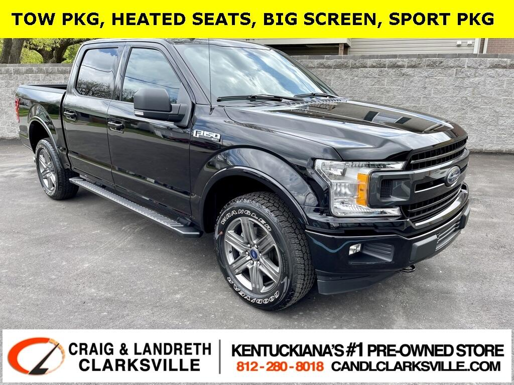 Ford F-150 XLT SuperCrew 4WD 2020
