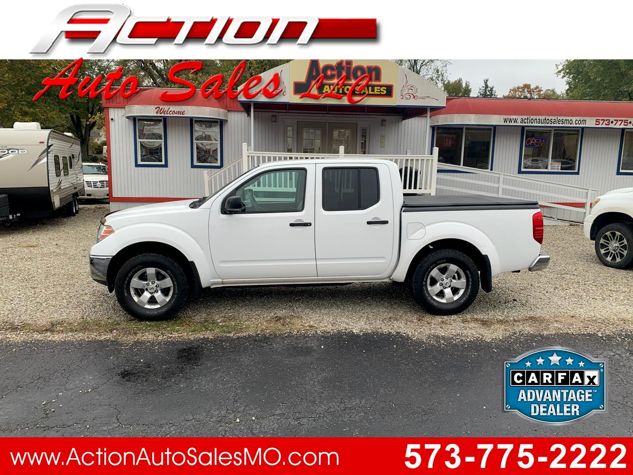 used 2010 nissan frontier 4wd crew cab swb auto se for sale in steelville mo 65565 action auto sales llc used 2010 nissan frontier 4wd crew cab