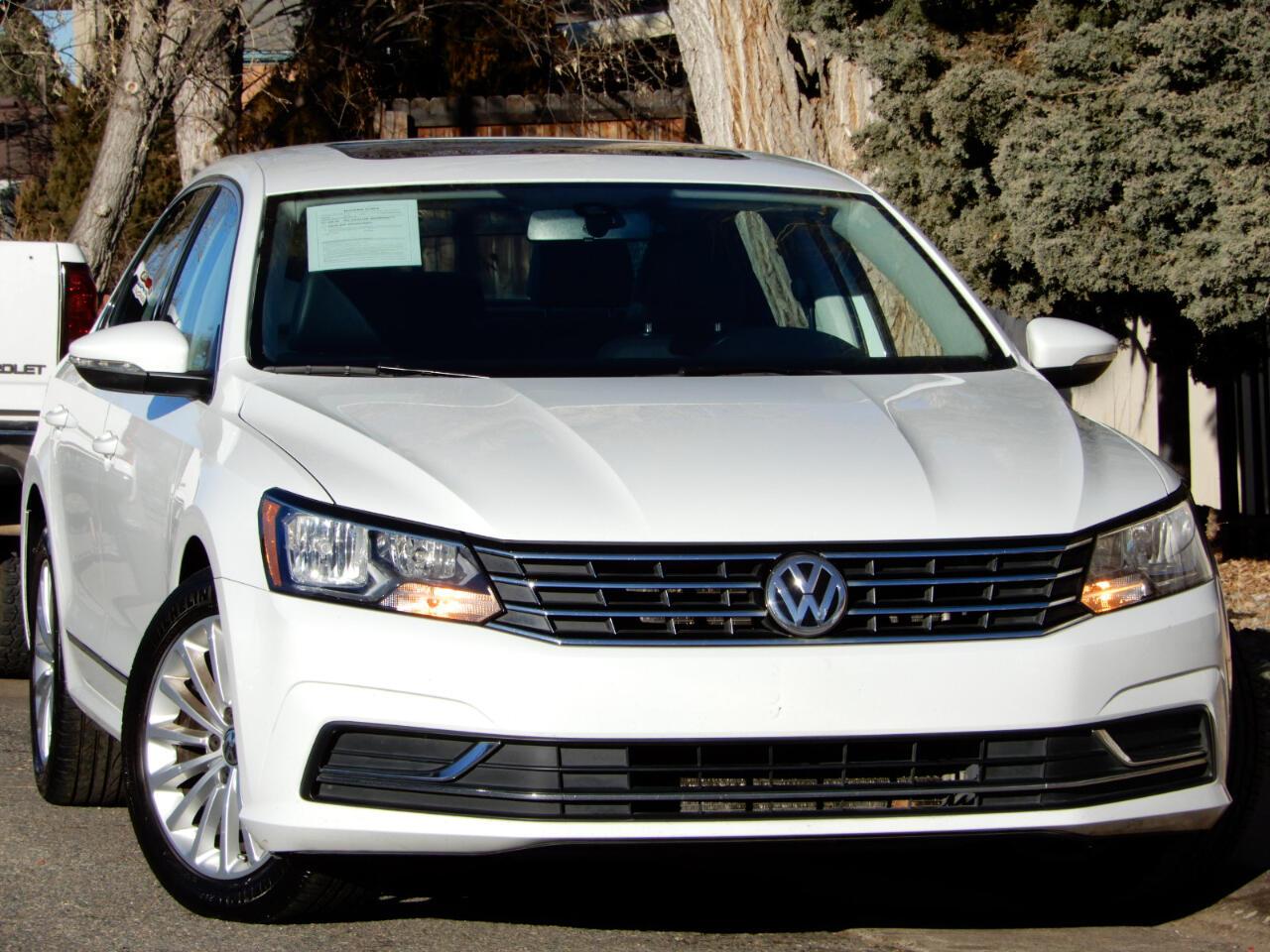 2016 Volkswagen Passat SE 6A