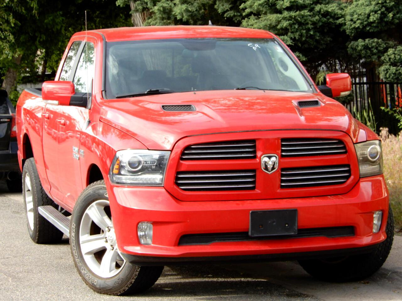 2013 RAM 1500 Sport Quad Cab 4WD
