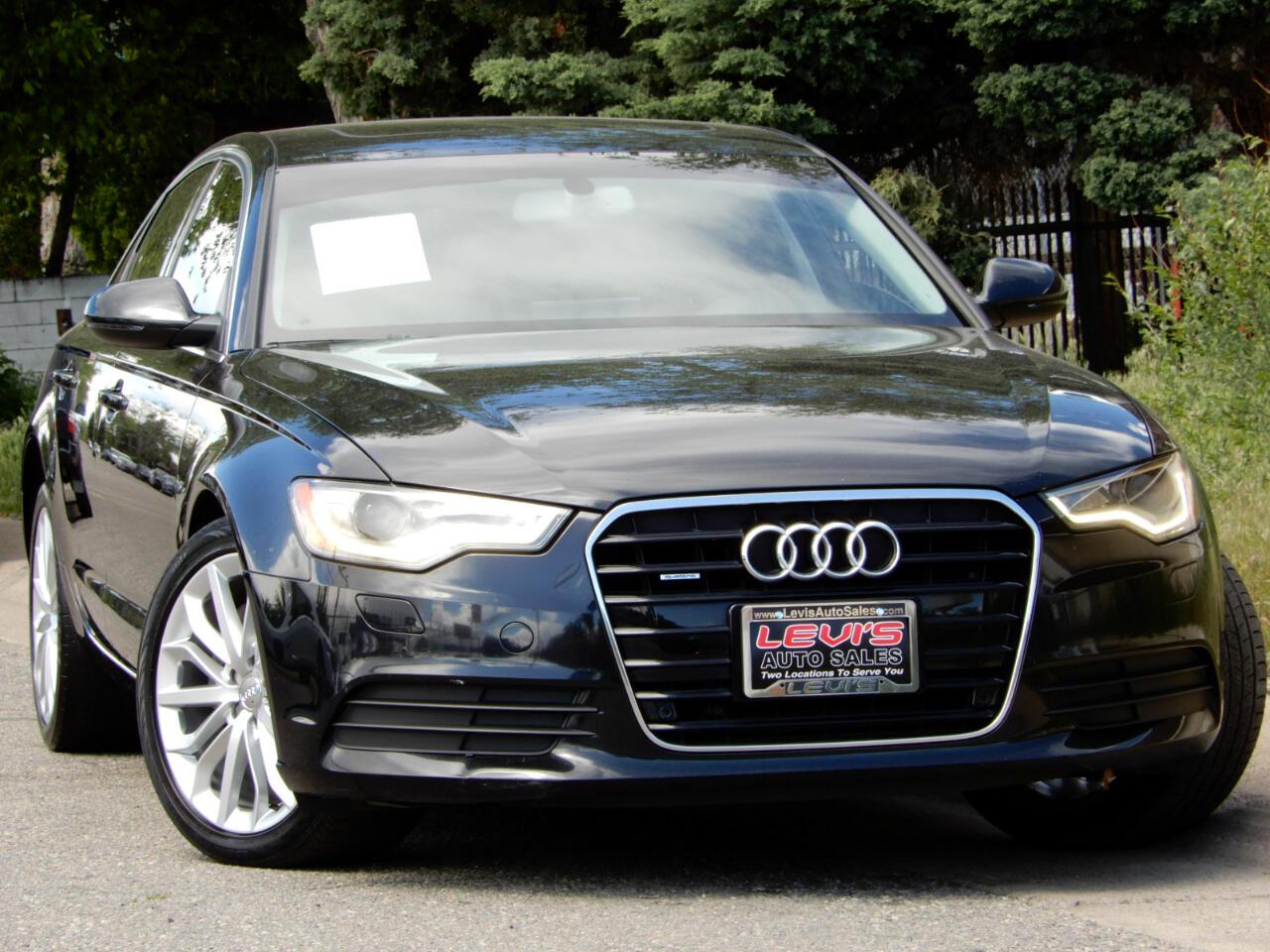 2014 Audi A6 2.0T Premium Plus Qauttro