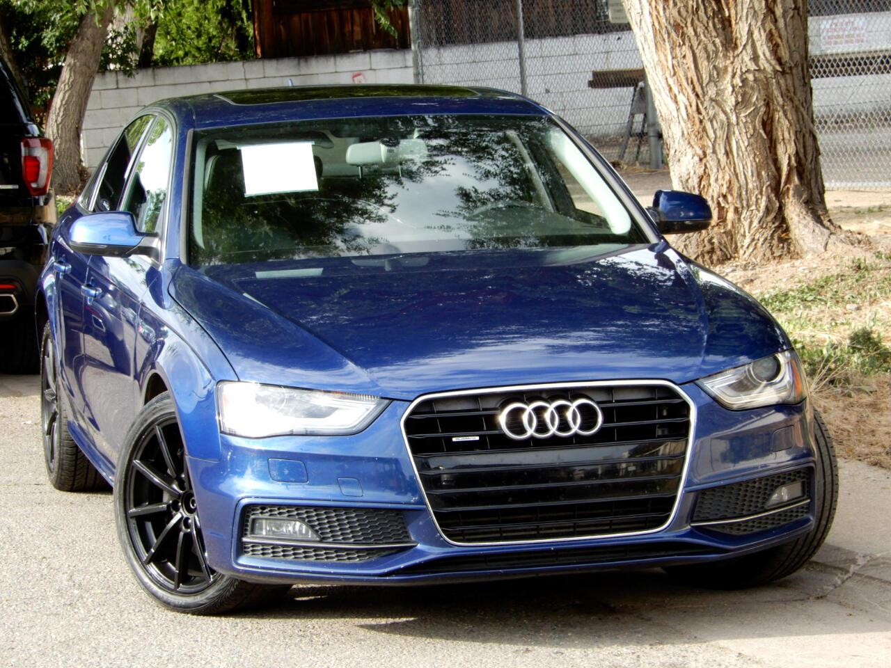 2014 Audi A4 2.0T Premium Plus Quattro