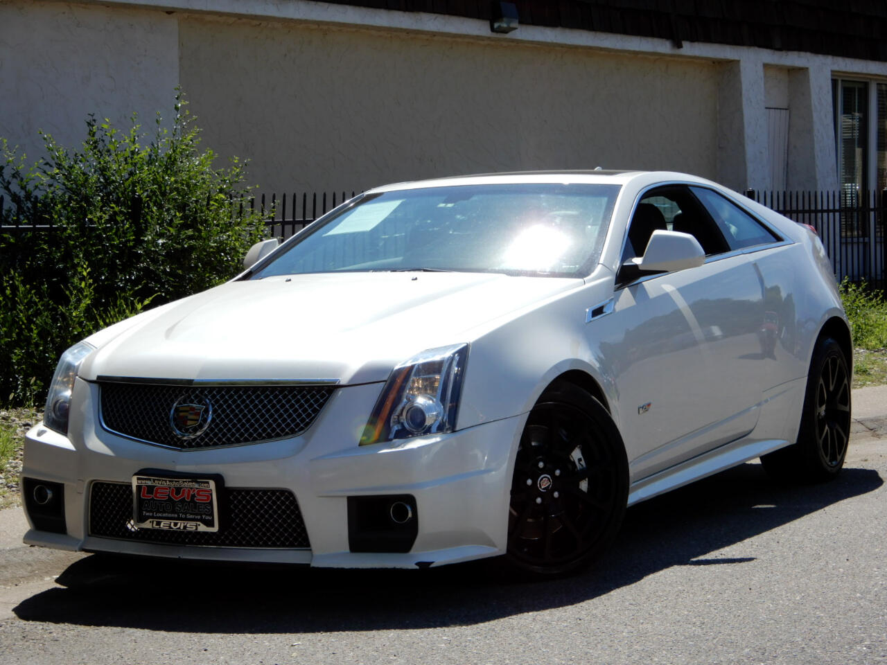 Cadillac CTS V Coupe 2013
