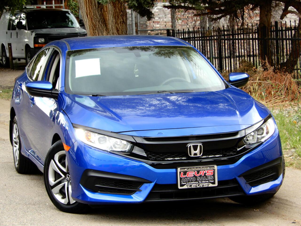 2018 Honda Civic LX Sedan CVT