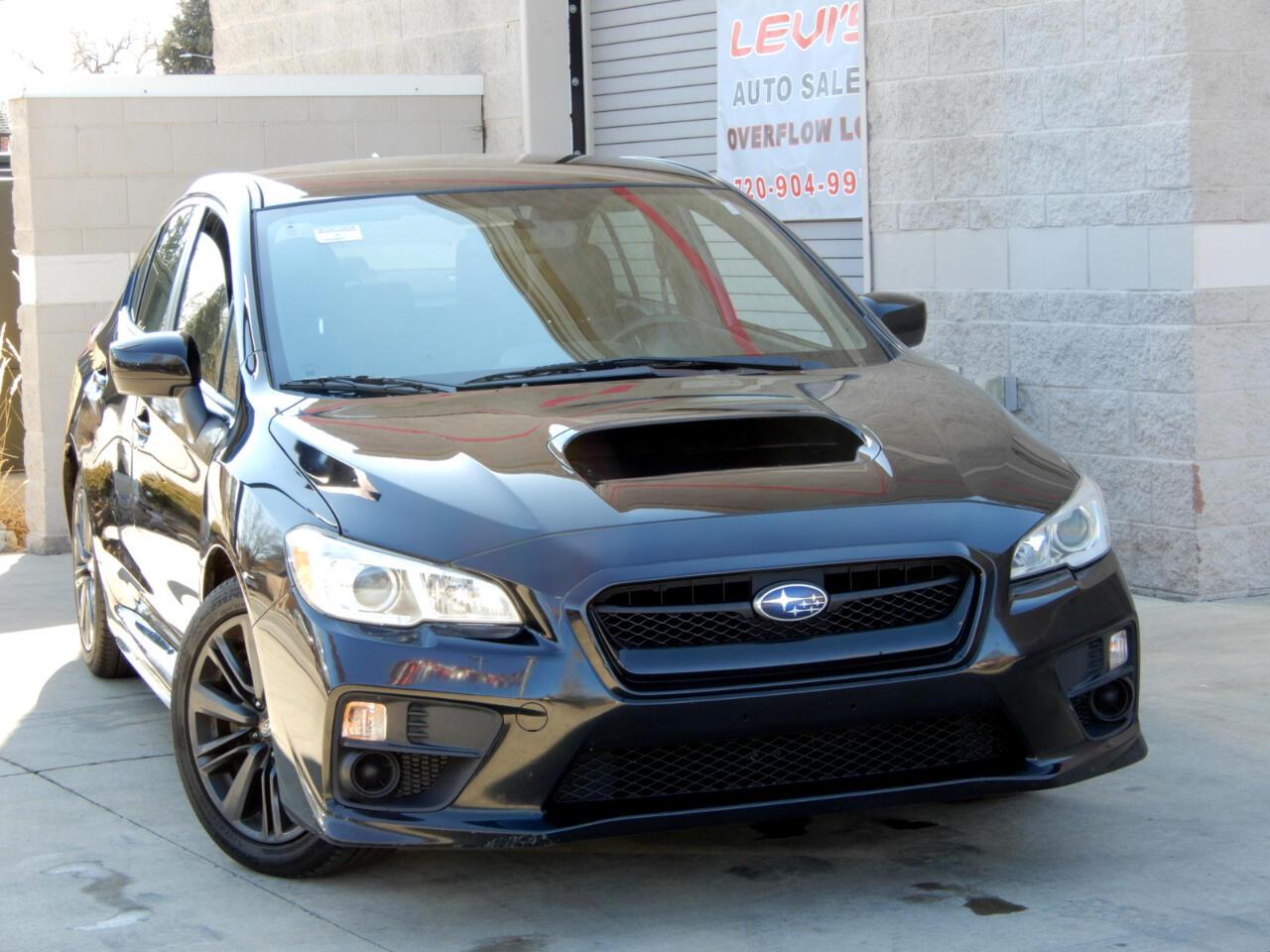 Subaru WRX 4-Door 2017