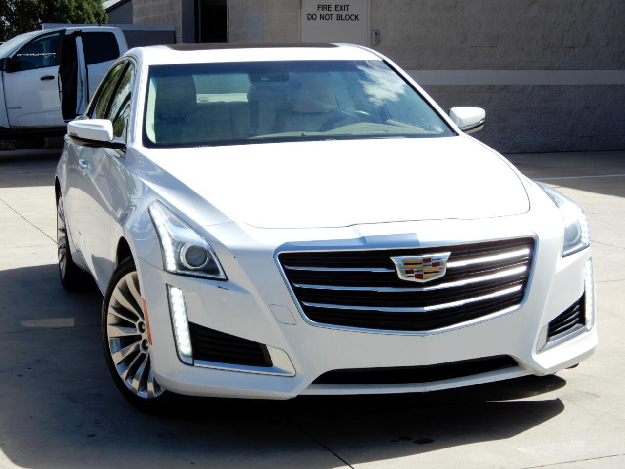 Cadillac CTS Sedan 4dr Sdn 2.0L Turbo Luxury AWD 2015