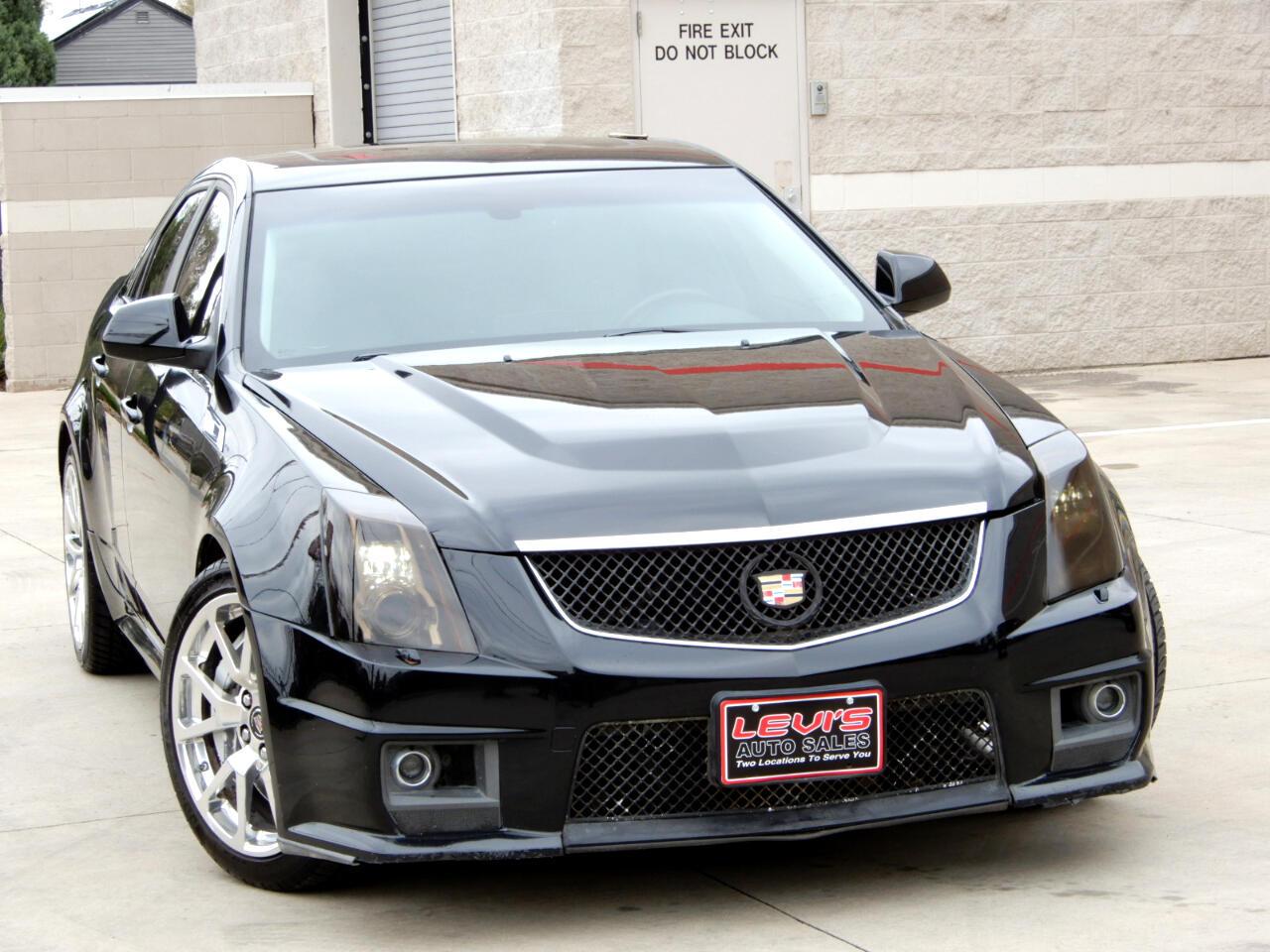 Cadillac CTS-V Sedan 4dr Sdn 2012