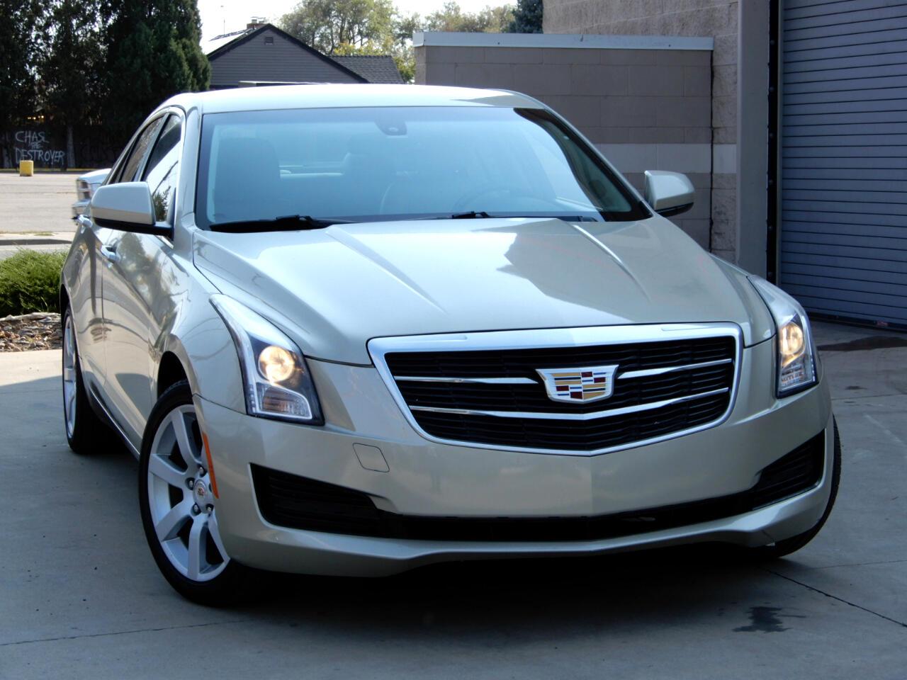 Cadillac ATS Sedan 4dr Sdn 2.5L Standard RWD 2015
