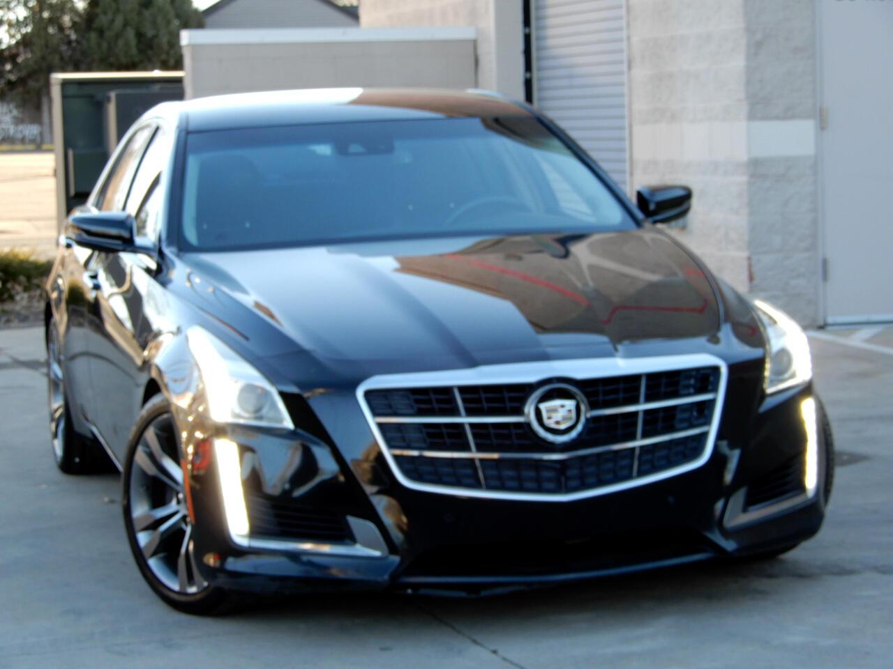 Cadillac CTS Sedan 4dr Sdn 3.6L Twin Turbo Vsport RWD 2014