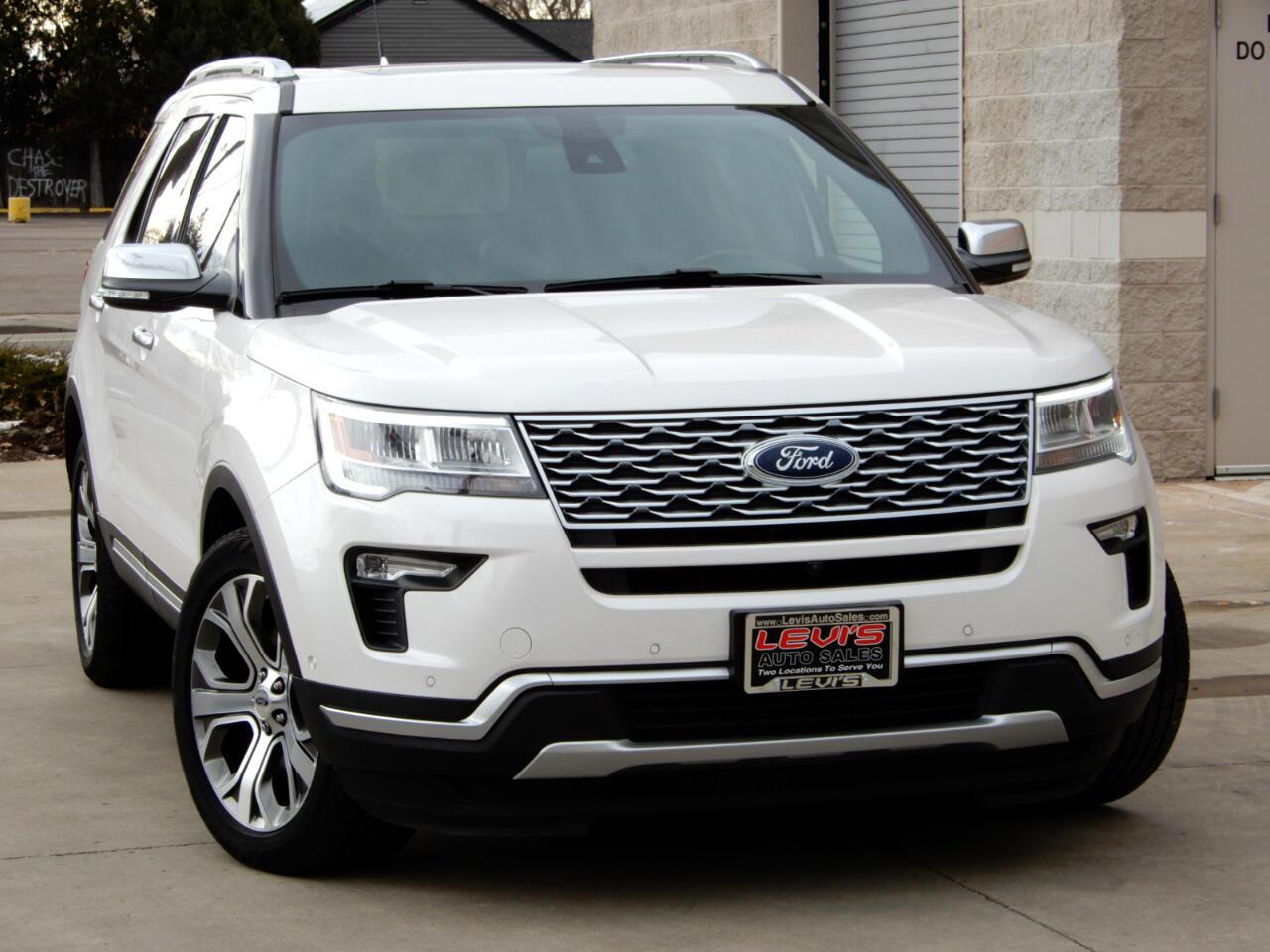 Ford Explorer Platinum 4WD 2018
