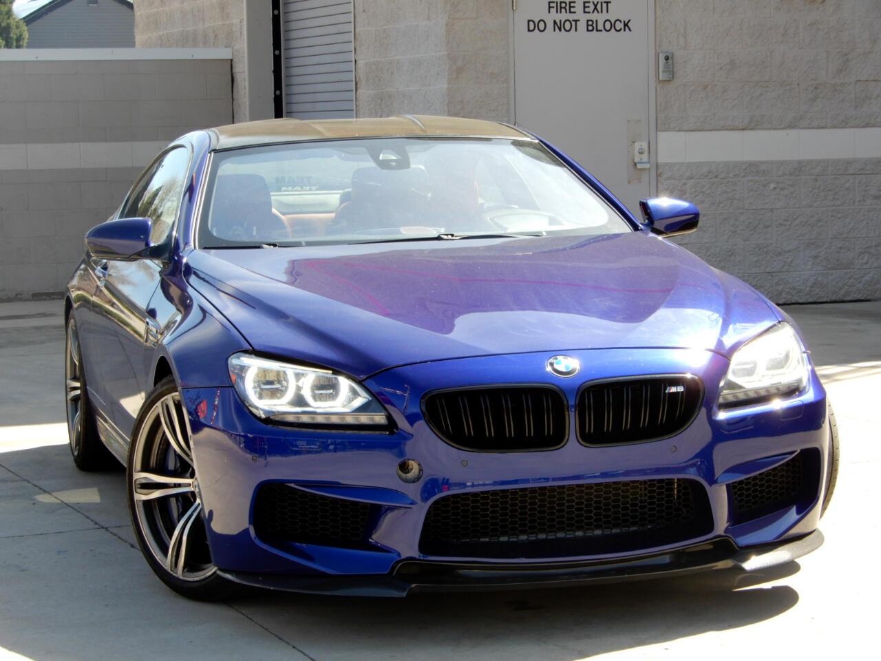 BMW M6 2dr Cpe 2013