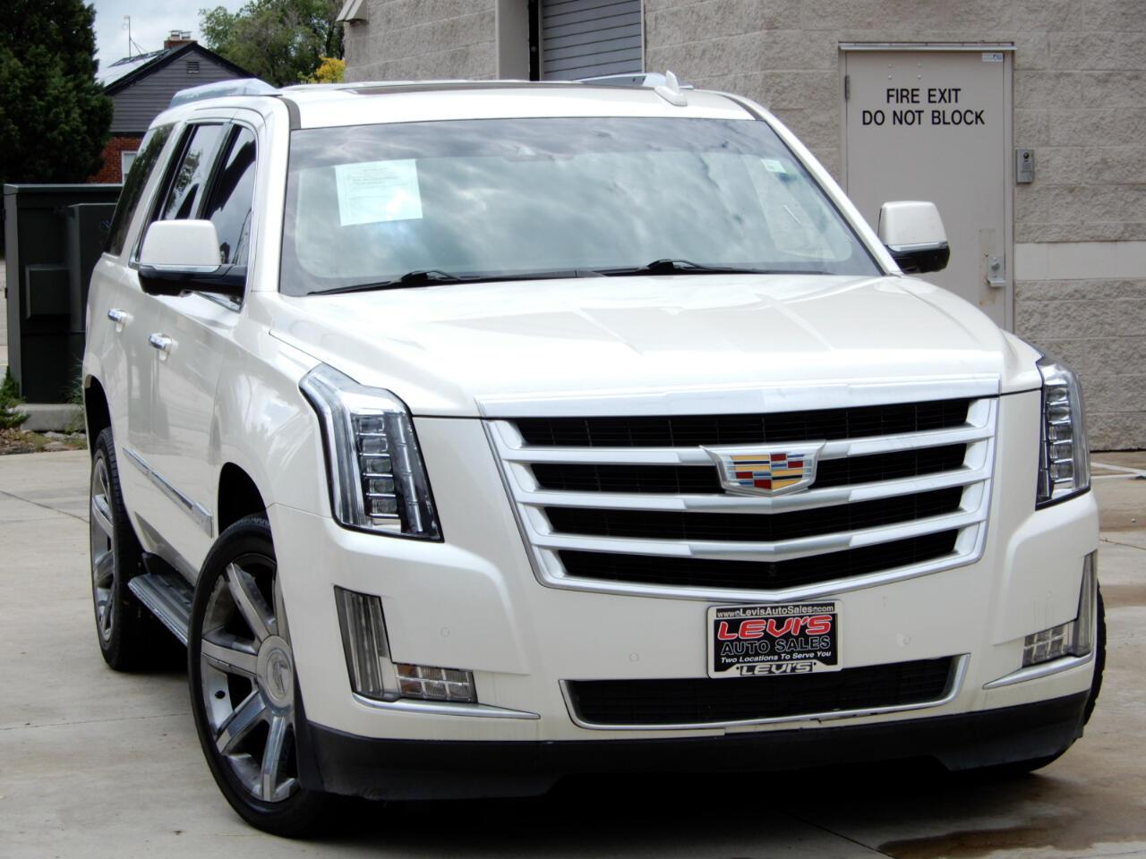 Cadillac Escalade 4WD 4dr Luxury 2015