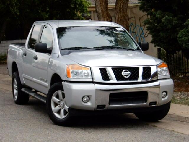 2014 Nissan Titan SV Crew Cab 4WD