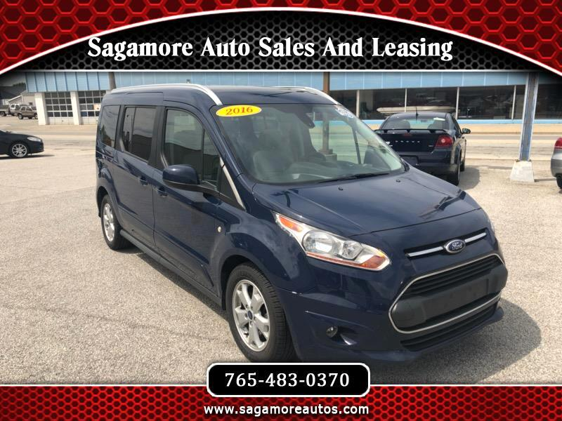 2016 Ford Transit Connect Wagon Titanium w/Rear Liftgate LWB